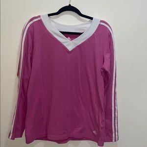 Adidas Womens Long Sleeve Shirt XL